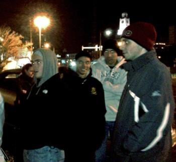 Members of the Jesus Run prepare to fan out in center city Philadelphia.