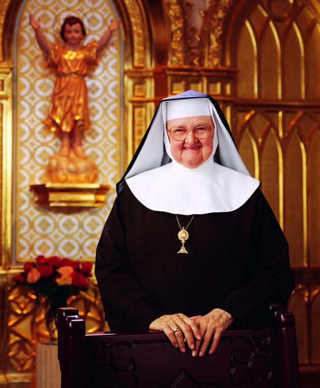Mother Angelica, founder of Eternal Word Television Network, died at age 92 March 27 at the Poor Clares of Perpetual Adoration monastery in Hanceville, Ala. She is pictured in an undated photo. (CNS photo/courtesy EWTN)
