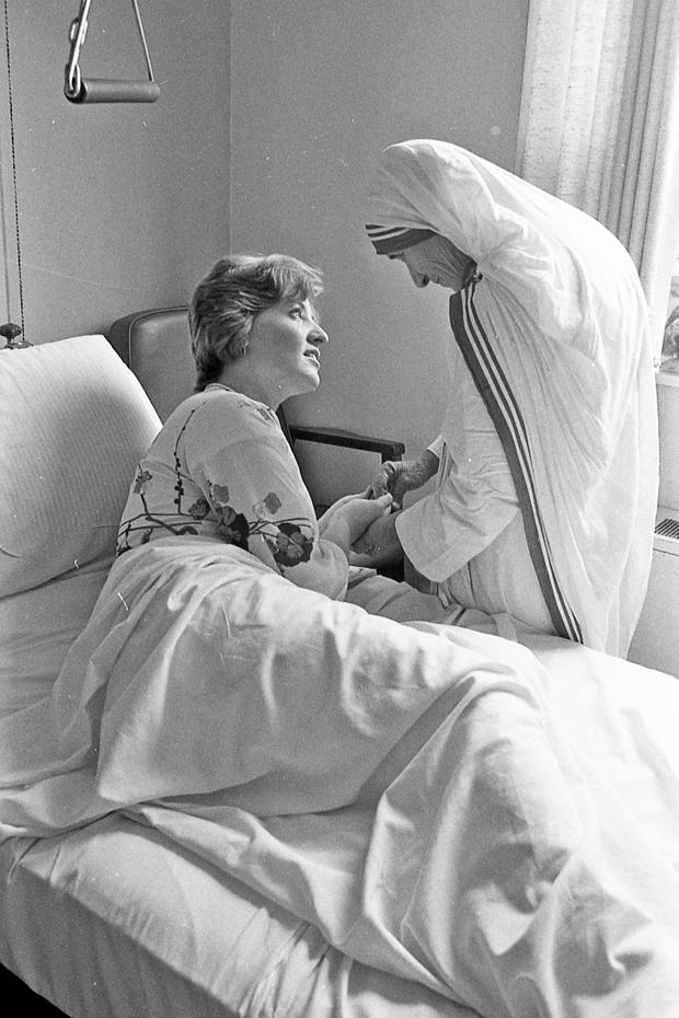 Mother Teresa Potts Visit 04