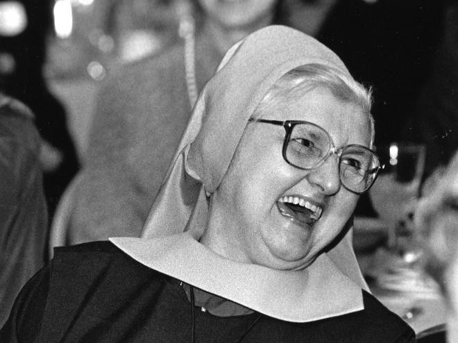 Mother Angelica, founder of Eternal Word Television Network, is pictured in an undated photo. She died March 27 at the Poor Clares of Perpetual Adoration monastery in Hanceville, Ala. She was 92. (CNS files)