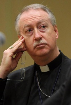 "The specter of assisted suicide is leading aging people to ""fear an institution that should be the last thing they should ever fear, a hospital,"" said Edmonton Archbishop Richard Smith. Archbishop Smith is pictured in a 2010 photo. (CNS photo/Nancy Wiechec)"
