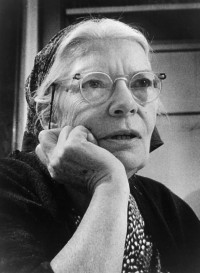 Dorothy Day, co-founder of the Catholic Worker Movement, is pictured in an undated photo. (CNS photo/courtesy Milwaukee Journal)