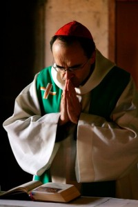 French Cardinal Philippe Barbarin is pictured in a 2007 photo. (CNS photo/Mohamed Messare, EPA)