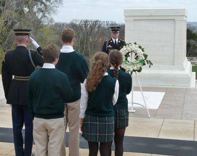 Laying of the Wreath 2