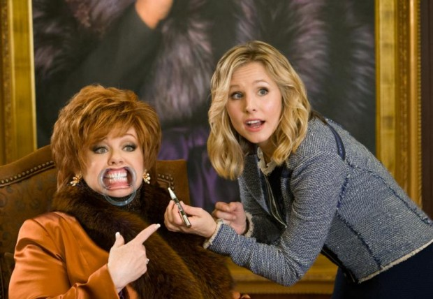 "Melissa McCarthy and Kristen Bell star in a scene from the movie ""The Boss."" (CNS photo/Universal)"