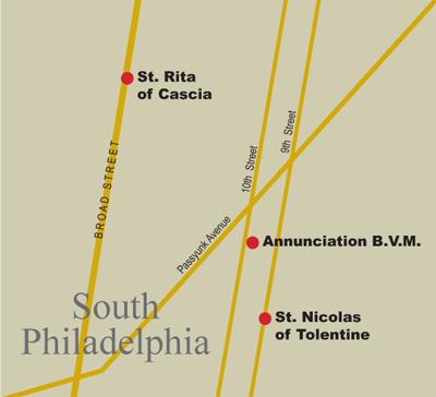 St Rita-Annuciation-St Nicholas.indd