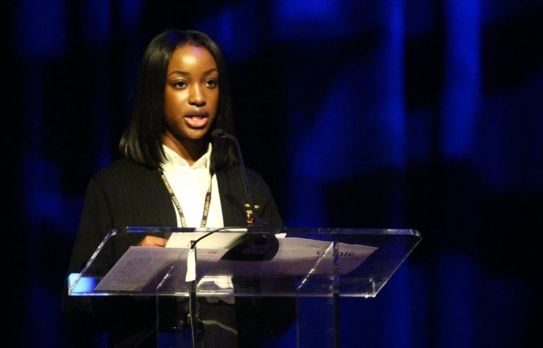Elsie Musu Boons, a student of SS. John Neumann and Maria Goretti Catholic High School in South Philadelphia, offers a moving testimonial of her Catholic education.
