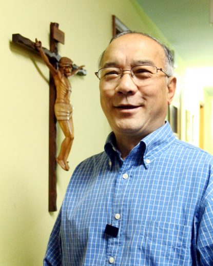 Chinh Dinh of St. Thomas Aquinas Parish, South Philadelphia. (Sarah Webb)