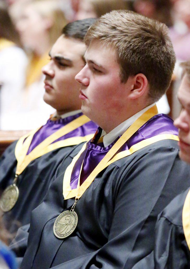 Michael Frye from Roman Catholic High School.