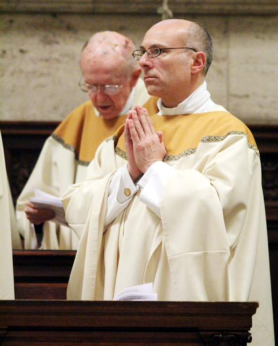 Father Thomas Sodano, pastor of St. Joseph Church in Collingdale, celebrates his 25th anniversary.