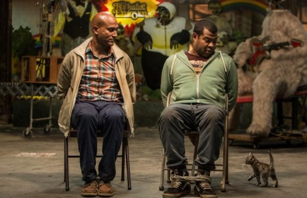 "Keegan-Michael Key and Jordan Peele star in a scene from the movie ""Keanu."" (CNS photo/Warner Bros.)"