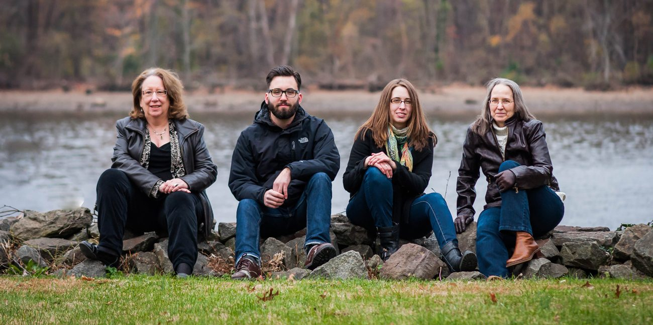 The River Drivers, a folk and Celtic music band from Bristol, Bucks County, are (from left) Marian Moran, Kevin McCloskey, Meaghan Ratini and Mindy Murray.