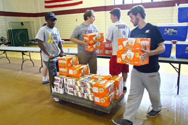 St. Joe Prep Donation_9924