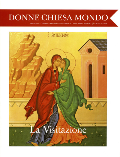 "This is the cover of the first edition of a new Vatican magazine called ""Women-Church-World"" that will highlight the presence of women in the church. (CNS photo/L'Osservatore Romano)"