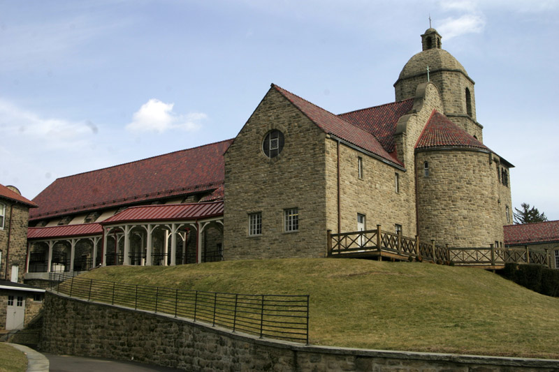 The National Shrine of St. Katharine Drexel and the motherhouse of the Sisters of the Blessed Sacrament in Bensalem will be sold, it was announced May 3. (Sarah Webb)