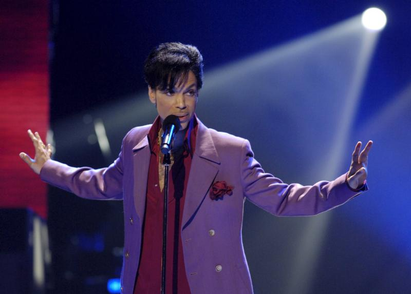 "Prince performs on the ""American Idol"" television show in 2006 in Los Angeles. The 57-year-old iconic musician was found dead April 21 at his home just outside Minneapolis. (CNS photo/Chris Pizzello, Reuters)"