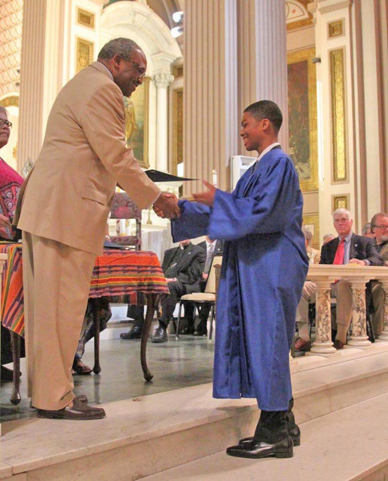 Gesu graduation - Diploma