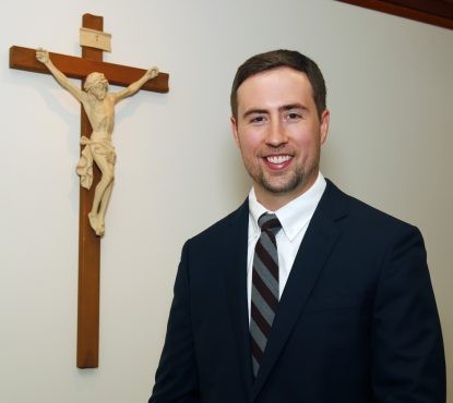 Jacob King, director of the Archdiocese of Philadelphia's Youth and Young Adult Ministry. (Sarah Webb)