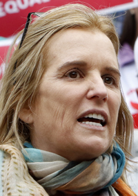 Human rights activist Kerry Kennedy is pictured in this file photo. (CNS photo/Gregory A. Shemitz)