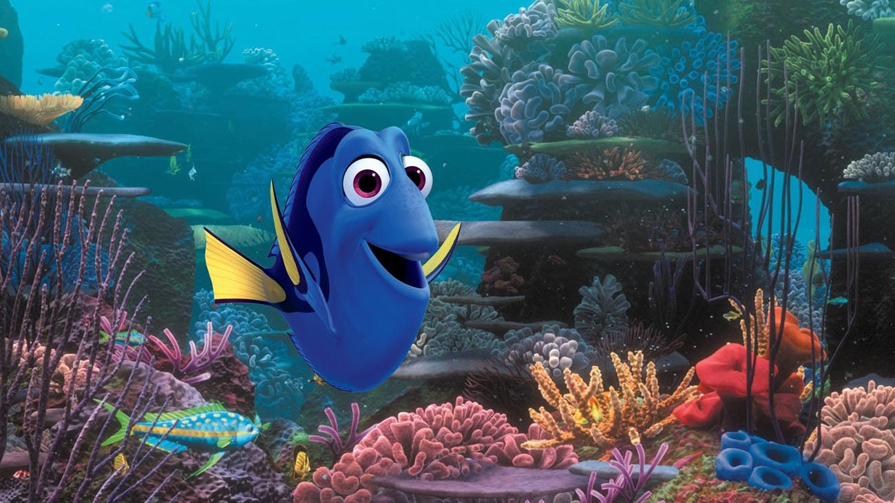"Animated character Dory, voiced by Ellen DeGeneres, appears in the movie ""Finding Dory.""  (CNS photo/Disney)"