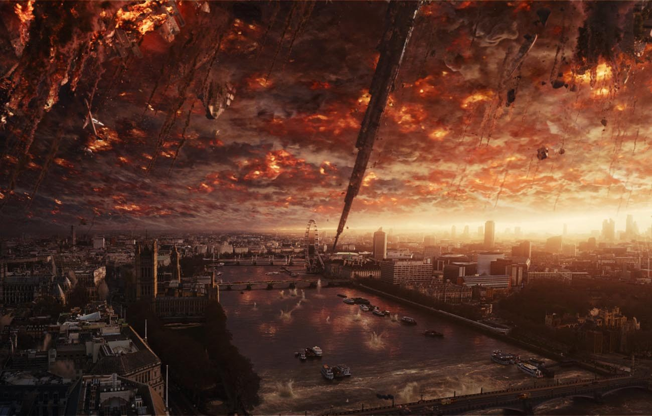"This is a scene from the movie ""Independence Day: Resurgence."" (CNS photo/Fox)"