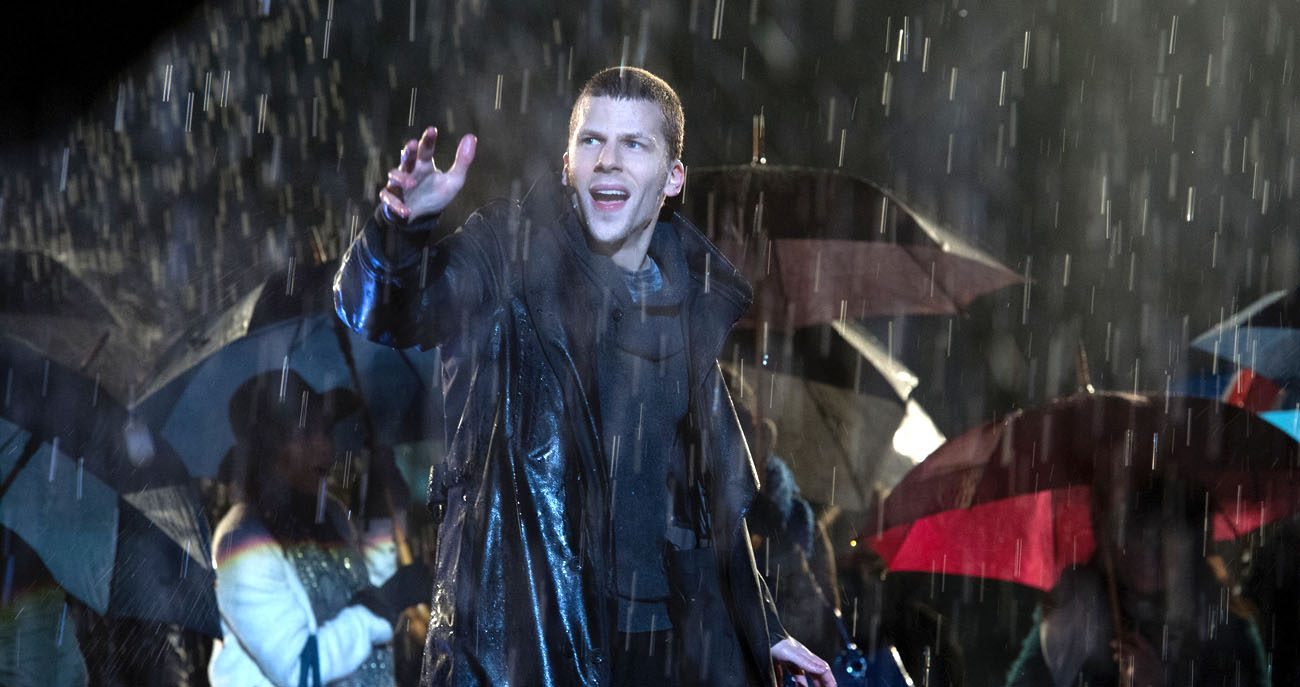"Jesse Eisenberg stars in a scene from the movie ""Now You See Me 2."" (CNS photo/Summit Entertainment)"