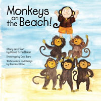 Monkeys on the beach