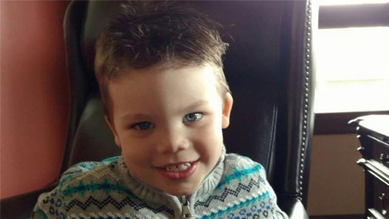 Lane Graves, 2, is pictured in a recent photo. The boy and his family were visiting Walt Disney World in Orlando, Fla., when he was dragged by an alligator into a lagoon at the resort the night of June 14. The boy's body was found June 15. The Graves family belongs to St. Patrick's Catholic Parish in Elkhorn, Neb. (CNS photo/Orange County Sheriff's office)