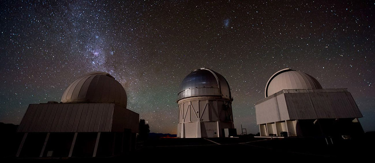 The sky at the Cerro Tololo in the Valle de Elqui, Chile, is seen Oct. 11, 2015. People from diverse cultures and religions working together greatly enrich scientific research, Pope Francis told international astronomy students. (CNS photo/AURA Observatory of Chile via EPA)