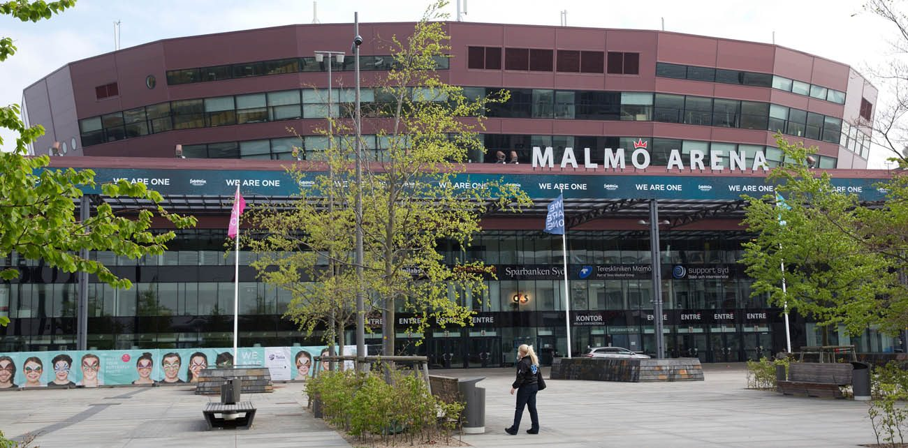 Malmo Arena in Malmo, Sweden, is seen in this 2013 file photo. Pope Francis will attend a public event here when he visits Sweden Oct. 31. (CNS photo/Joerg Carstensen, EPA)