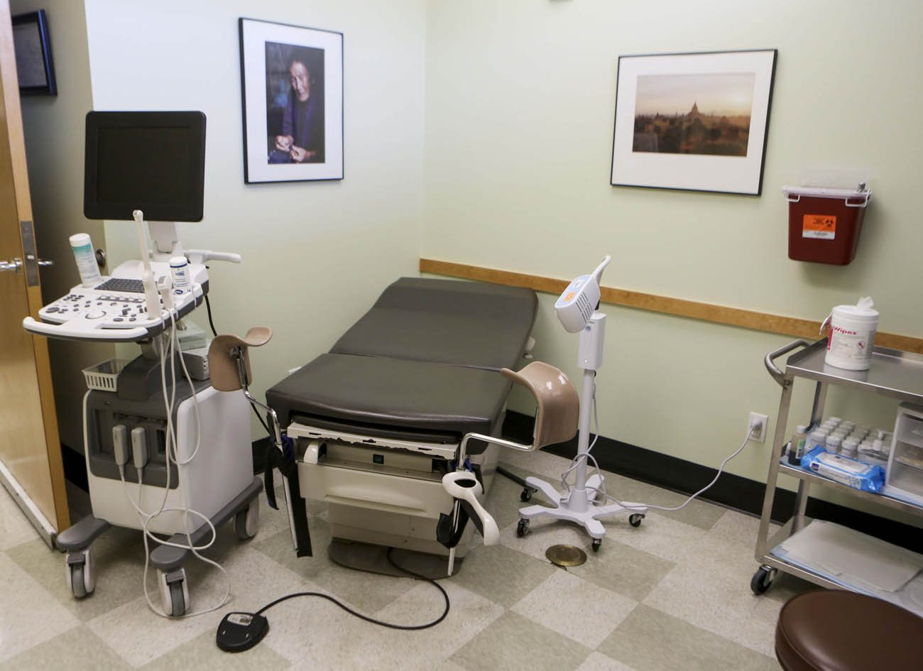 An exam room at the Planned Parenthood South Austin Health Center in Austin, Texas, is shown June 27. In a 5-3 vote that day, the U.S. Supreme Court struck down restrictions on Texas abortion clinics that required them to comply with standards of ambulatory surgical centers and required their doctors to have admitting privileges at local hospitals. (CNS photo/Ilana Panich-Linsman, Reuters)