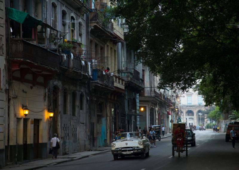 A street is seen in Havana Sept. 21, 2015. (CNS photo/Tyler Orsburn)