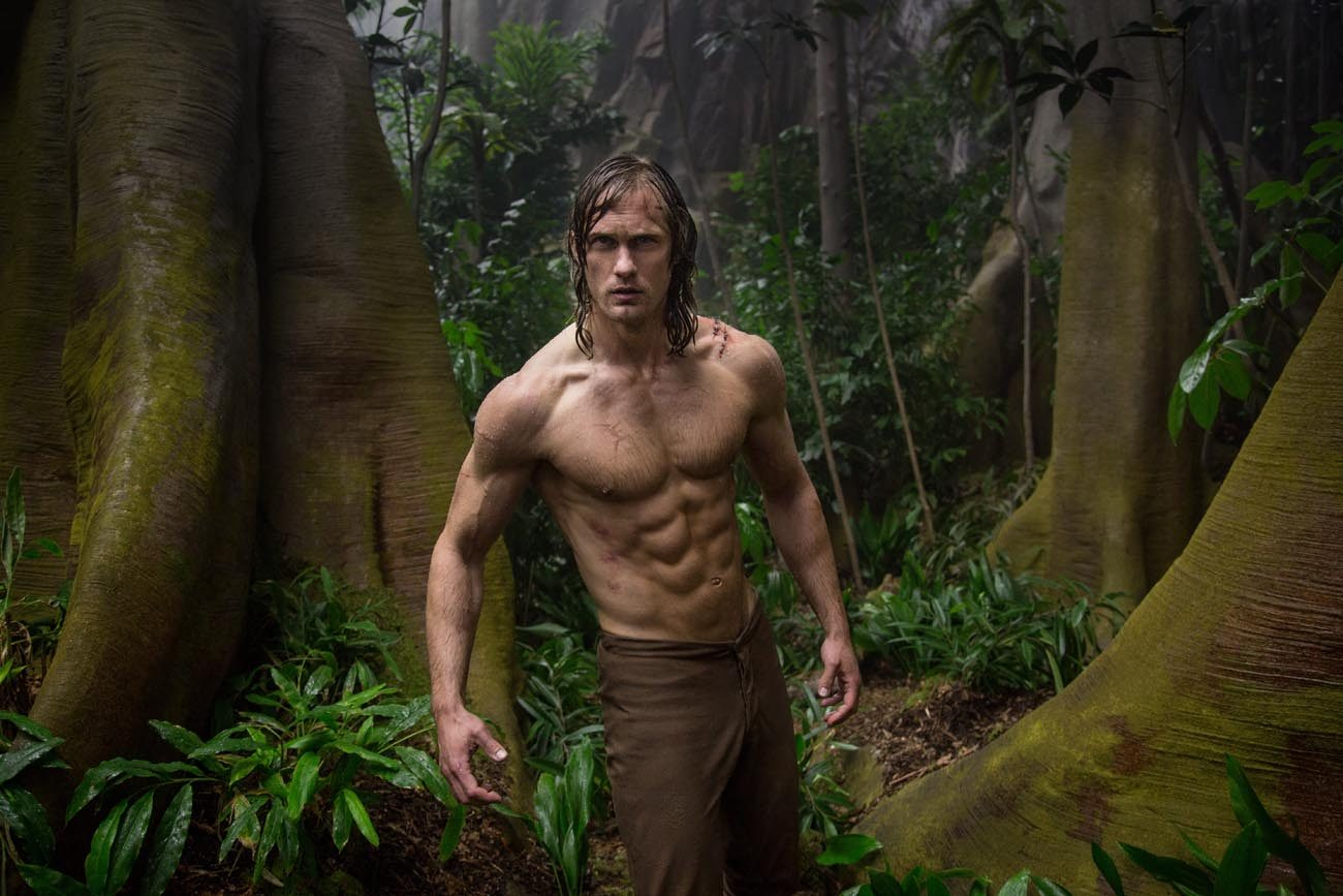 "Alexander Skarsgard stars in a scene from the movie ""The Legend of Tarzan."" (CNS photo/Warner Bros.)"