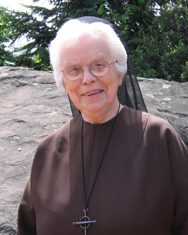 Mother Rosemae Pender, 94, foundress of the Franciscan Sisters of the Eucharist, is pictured in an undated photo. (CNS photo/courtesy Franciscan Sisters of the Eucharist)