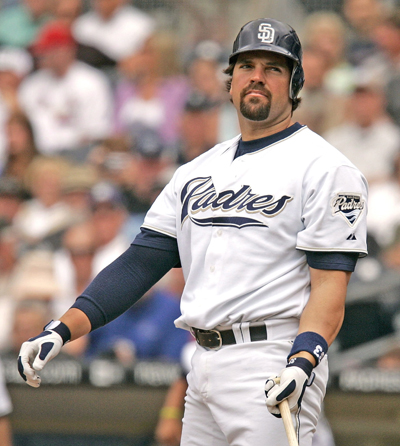 Mike Piazza is seen in San Diego in this 2006 file photo.(CNS photo/Jack Smith, EPA)