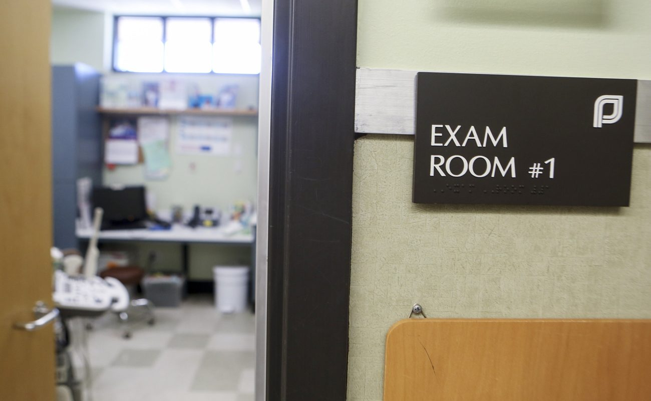 An exam room at the Planned Parenthood South Austin Health Center is seen in Austin, Texas, June 27. (CNS photo/Ilana Panich-Linsman, Reuters)