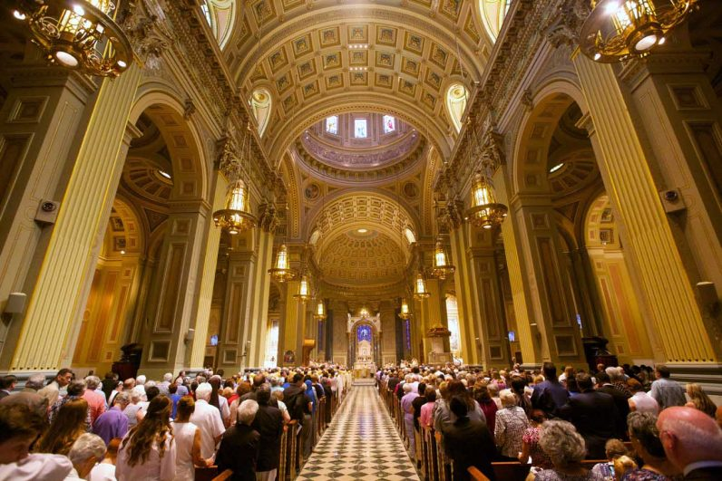 The Cathedral Basilica of SS. Peter and Paul, Philadelphia. (Bradley Digital)