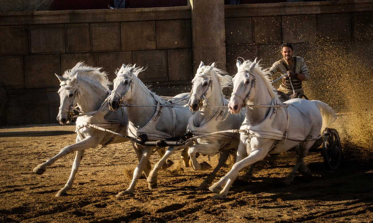 "Jack Huston stars in a scene from the movie "" Ben-Hur."" (CNS photo/Paramount Pictures and Metro-Goldwyn-Mayer Pictures Inc)"