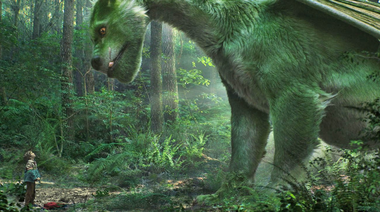 "Oakes Fegley stars in a scene from the movie ""Pete's Dragon.""  (CNS photo/Disney)"