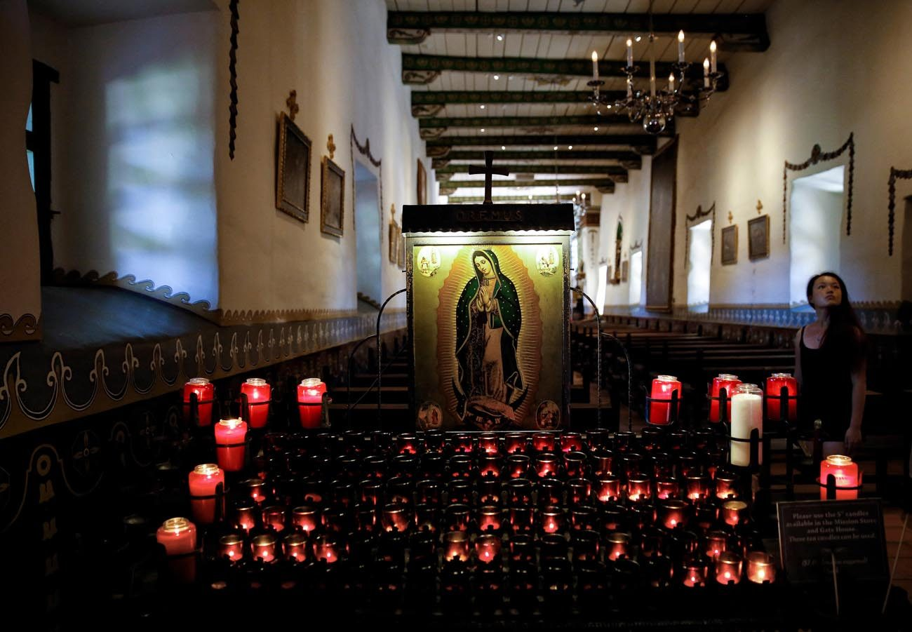 The Serra Chapel at Mission San Juan Capistrano in San Juan Capistrano, Calif., is seen in this July 27, 2015, photo. (CNS photo/Nancy Wiechec)