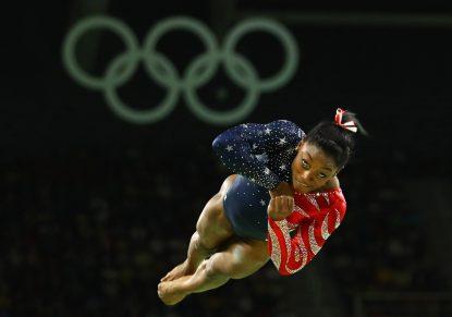 With Olympic gold, USA's Simone Biles simply greatest gymnast ever