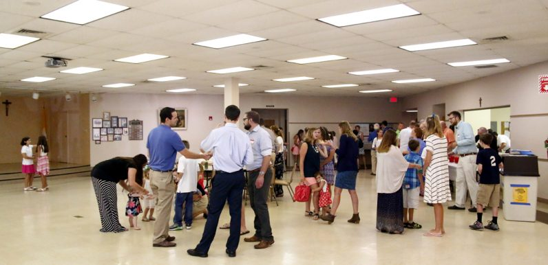 St. Agnes holds its first Coffee House social after the 10 a.m. Mass on Aug. 28. The new gathering is supported by several ministries within the parish.