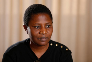 Sister Kayula Lesa said in Zambia the church has taken a multitiered approach to fighting abuse. (CNS photo/Paul Haring)