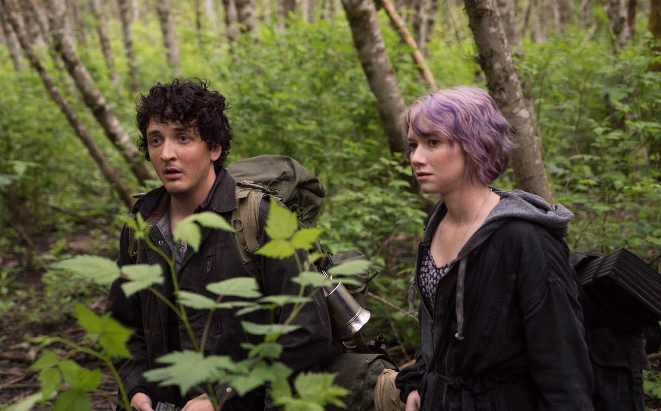 "Wes Robinson and Valorie Curry star in a scene from the movie ""Blair Witch."" (CNS photo/Lionsgate)"