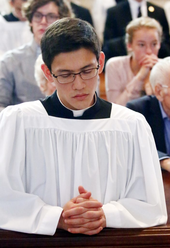 Seminarian Anthony Raymundo