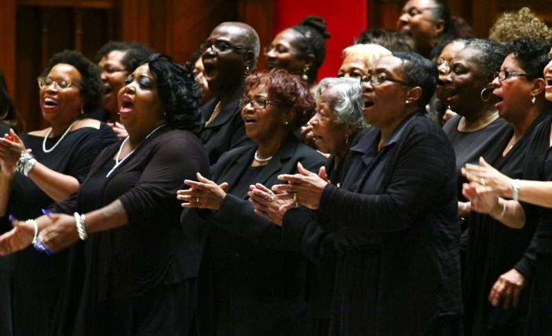 The Philadelphia Catholic Mass Choir.