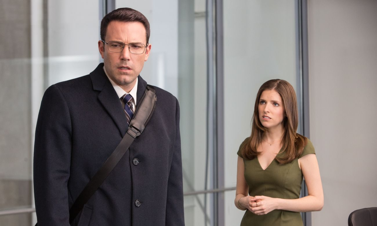 "Ben Affleck and Anna Kendrick star in a scene from the movie ""The Accountant."" (CNS photo/Warner Bros.)"
