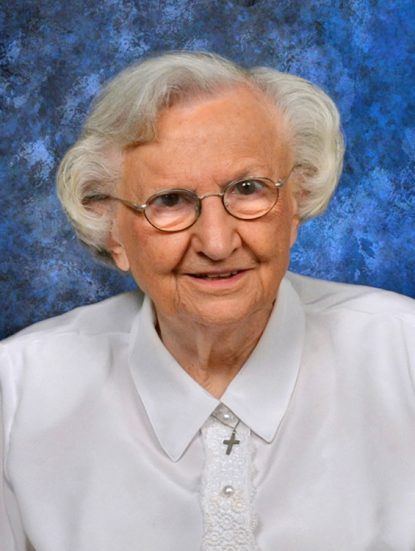 Precious Blood Sister Barbara Agnew
