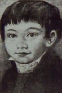 A young St. John Neumann