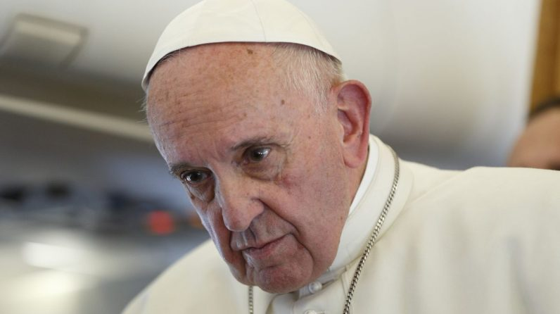 Catholic Church never likely to ordain women, pope says